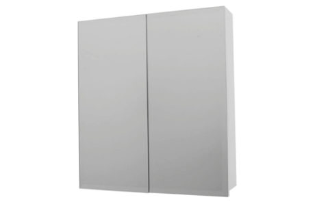 mirrored cabinets - Castano - 750 FLORENCE MIRROR WALL CABINET - SKU:750MSCWH