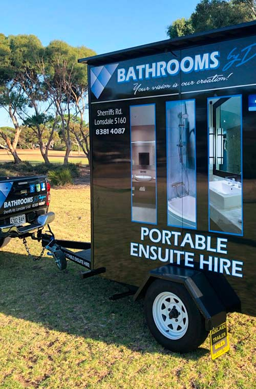 Bathrooms by Design - Portable Ensuite Hire - exterior