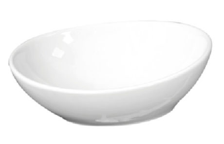 basins - Castano - SORRISO OVAL CERAMIC BOWL - SKU:SOROVB