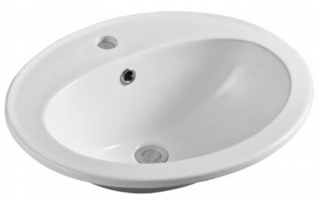 basins - Fienza - LACY CERAMIC DROP IN - SKU:RB506A