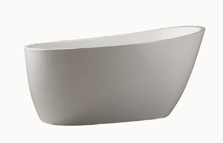 freestanding baths - Decina PICCOLO 1400/1500 FS BATH - SKU:PI1500W