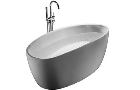 freestanding baths - Decina ROSA 1700 BATH - SKU:RO1700W