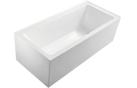freestanding baths - Fienza SENTOR 1500 ACRYLIC FREE-STANDING BATH - SKU:FRO2-1500