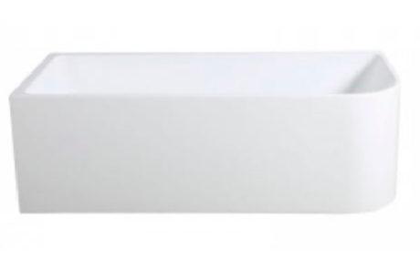 freestanding baths - Impressions SLEEK FREESTANDING BATH 1500 LHS - SKU:IMKB103-L-1500