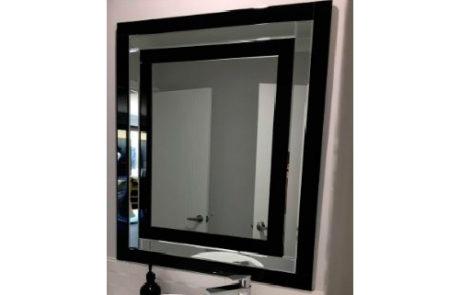 mirrors - Thermogroup - ART DECO IRIS 900X750MM - SKU:ADCBL972