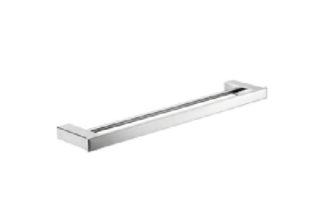 accessories - Castano - ELBA 810MM DBL TOWEL RAIL - SKU:ELDTRC