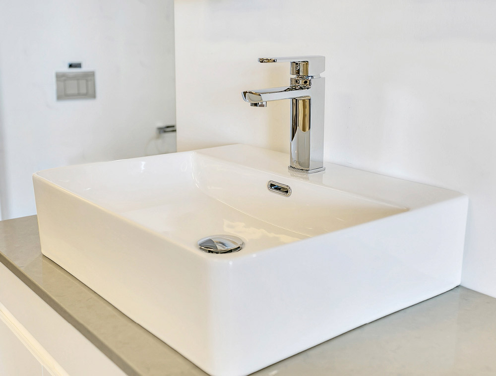 Designer made basins
