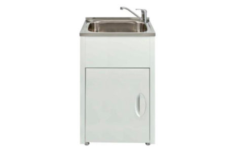 laundry - Seima - LAUNDRY TROUGH and CABINET 45L - SKU:SLC-600B