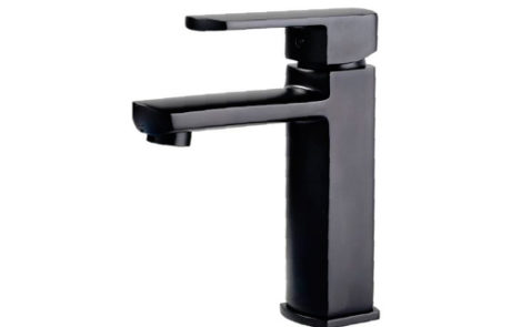 mixers - Fienza - KOKO BLACK BASIN MIXER - SKU:218-101B