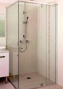 showerscreens - SSS - SEMI-FRAMELESS SHOWERSCREEN - SKU:SEMIFRAMELESSSHOWERSCREEN