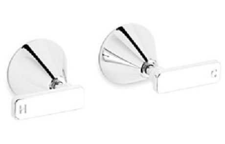tapware - Faucet - CHISEL WALL TAP- SET- CHROME - SKU:31725-11