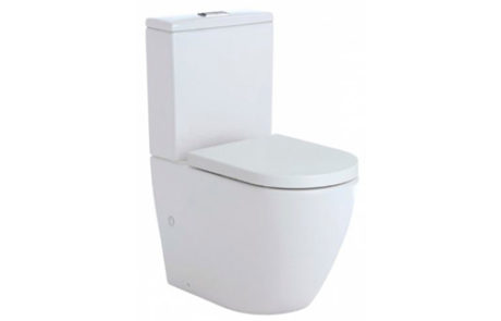 toilets - Fienza - KOKO RIMLESS BACK TO WALL TOILET 90 160MM - SKU:K002A