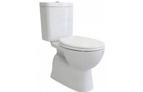 toilets - Fienza - STELLA RIMLESS CLOSE COUPLED S TRAP - SKU:K009